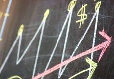 Groeiend bedrijfssucces Royalty-vrije Stock Foto