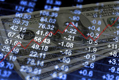 Groeiend Geld Stock Foto's
