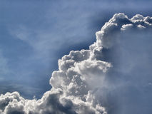 Groeiende cumulus stock foto's