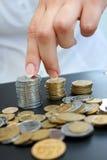 Groeiende inkomens royalty-vrije stock foto's