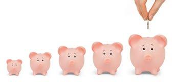 Groeiende Investering Stock Foto's