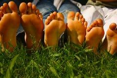 Groeiende voeten Royalty-vrije Stock Afbeelding