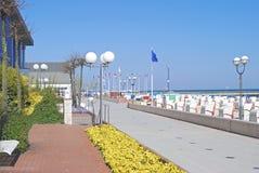 Groemitz, Балтийское море, Шлезвиг-Гольштейн, Германия Стоковое Фото