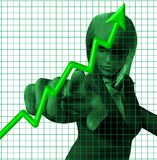 Groen royalty-vrije illustratie