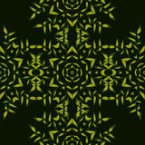 Groen abstract mozaïek naadloos patroon Stock Fotografie