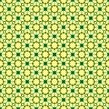 Groen abstract naadloos patroon Stock Afbeelding