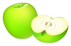 Groen Apple Stock Foto