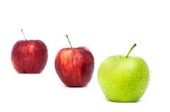 Groen Apple toont Royalty-vrije Stock Foto