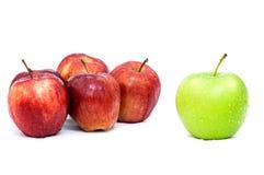 Groen Apple toont Stock Foto