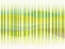 Groen behang Royalty-vrije Illustratie