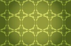 Groen behang stock illustratie