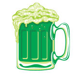 Groen bier Stock Illustratie