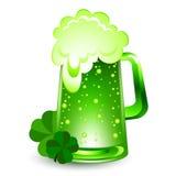Groen bier Royalty-vrije Stock Foto