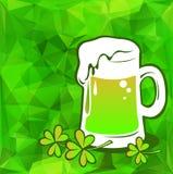 Groen bier Stock Foto
