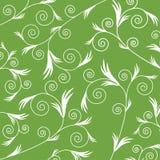Groen bladpatroon Stock Foto's