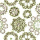 Groen bladpatroon voor uw ontwerp Stock Foto