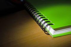 Groen boek Stock Foto