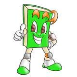 Groen boek Stock Afbeelding