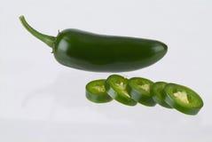 Groen Chili royalty-vrije stock foto