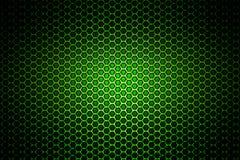 Groen chroom metaalnetwerk metaalachtergrond en textuur royalty-vrije illustratie