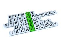 Groen Concept Stock Afbeeldingen