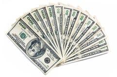 Groen Contant geld Royalty-vrije Stock Foto