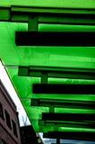 Groen dak Royalty-vrije Stock Foto