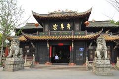 Groen de Geitpaleis van Qing Yang Gong Templeï ¼ ŒTaoism in chengdu China Royalty-vrije Stock Afbeeldingen