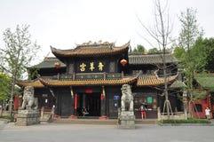 Groen de Geitpaleis van Qing Yang Gong Templeï ¼ ŒTaoism in chengdu China Stock Foto