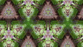 Groen de textuur abstract patroon van de metaalroest Stock Foto's