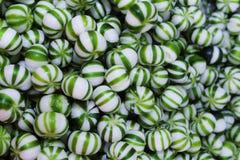 Groen dicht suikergoed Royalty-vrije Stock Foto