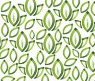 Groen doorbladert textuur. Naadloos patroon Royalty-vrije Stock Foto