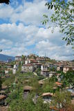 Groen dorp Stock Afbeelding