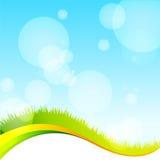 Groen ecomalplaatje Royalty-vrije Stock Afbeelding
