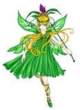 Groen Elf Royalty-vrije Stock Afbeeldingen