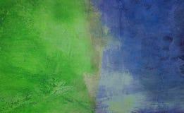 Groen en Blauw Royalty-vrije Stock Afbeeldingen