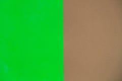 Groen en bruin voor achtergrond Royalty-vrije Stock Afbeelding