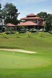 Groen en Clubhuis Stock Afbeelding