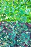 Groen en fuchsiakleurig royalty-vrije stock foto's