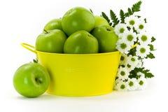 Groen en geel Royalty-vrije Stock Afbeeldingen
