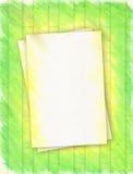Groen en Gouden Frame stock foto's