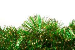 Groen en Gouden Klatergoud Royalty-vrije Stock Afbeelding