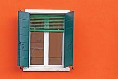 Groen en oranje royalty-vrije stock fotografie