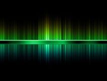 Groen en Turkoois abstract beeld Stock Afbeelding