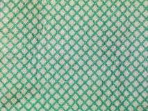 Groen en wit rooster royalty-vrije stock afbeelding