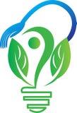 Groen energieconcept Royalty-vrije Illustratie