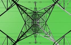 Groen energieconcept Royalty-vrije Stock Foto's