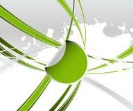 Groen Etiket vector illustratie