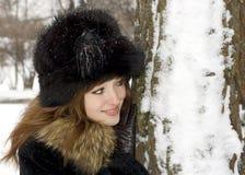 Groen-eyed meisje Royalty-vrije Stock Afbeelding