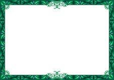 Groen frame. Royalty-vrije Stock Afbeeldingen